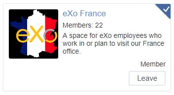 eXo Platform France space