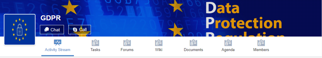 eXo Platform : GDPR Data Protection