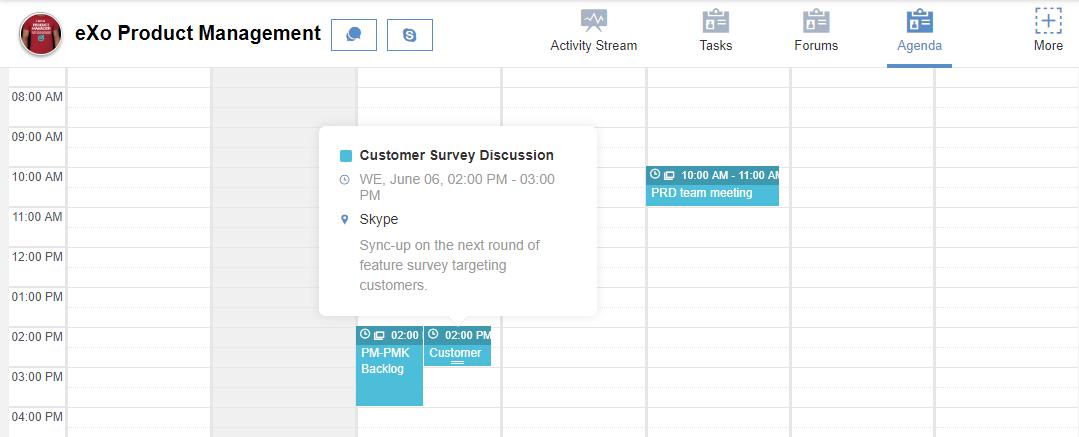 eXo Platform : Team meetings