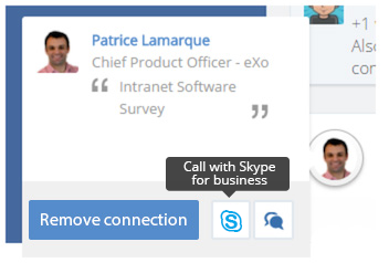 eXo : video Conferencing integration