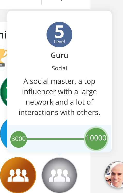 eXo Gamification add-on: Levels Badges Gamification