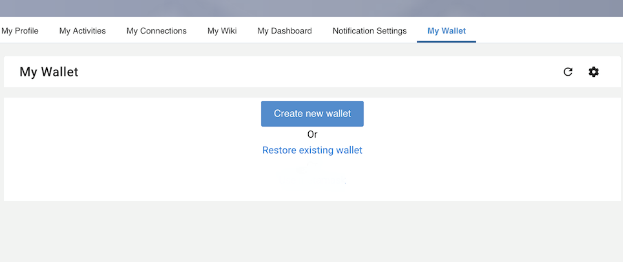 Send and receive payments in eXo Wallet