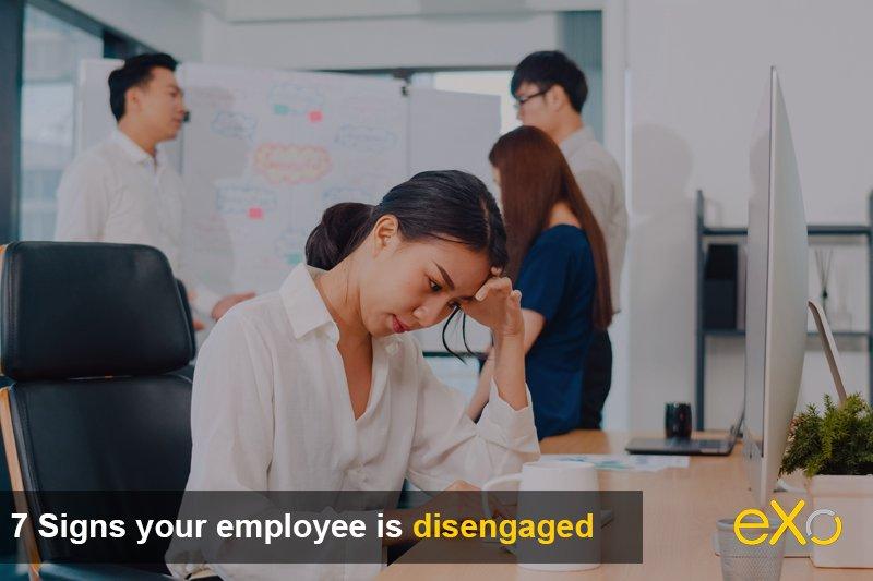 Disengaged Employee