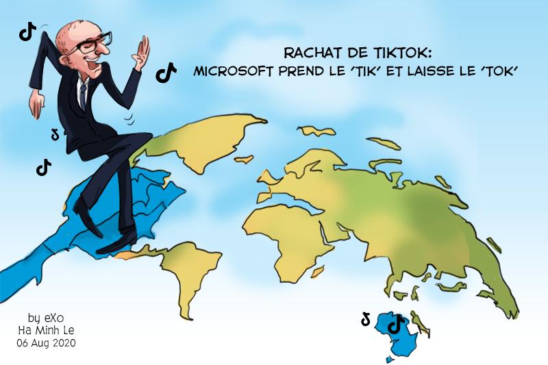 TikTok, Microsoft