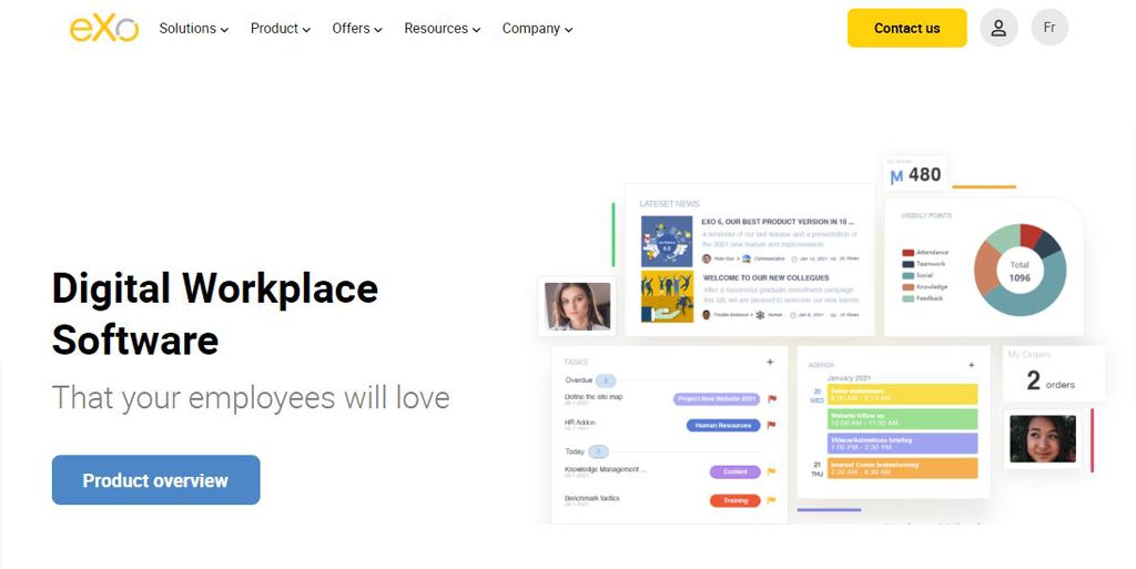 eXoPlatform: Digital Workplace Open Source
