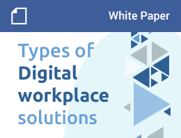 Types of Digital workplace solutions – White Paper